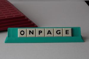 Onpageoptimierung - bezeichnet alle Aufgaben, die an einer Webseite und auf dem Server durchgeführt werden, um das Ranking bei Suchmaschinen zu beeinflussen
