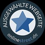 Ausgewählte Seite von onlinestreet.de