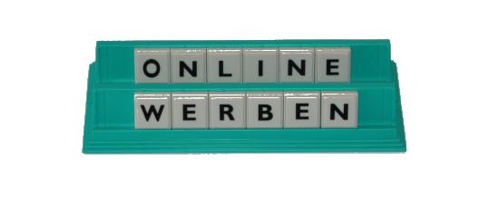 Online Werbung schalten lassen