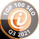 Auszeichnung 3S+Webdesign zu TOP 100 SEO Dienstleister Quartal 3 2020
